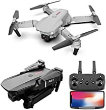 ZHUSI E88 FPV RC Drone with 1080P HD Camera Live Video Wide-Angle WiFi Quadcopter with Height Hold Mode, Music Zoom, Gesture Control, Altitude Hold, Headless Mode, 360° Rolling, Automatic Return