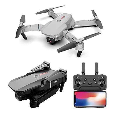 QINQI HD-Dual-Kamera-Drohne4k / 1080P / 720P Faltbare WLAN-Fpv-Drohne 6-Achsen-Steuerung 3-Stufige Geschwindigkeitsumschaltung GPS-Positionierung Flugbahn Start Und Landung mit Einer