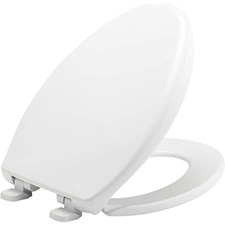 Bemis 7900tdgsl 000 Commercial Heavy Duty Closed Front Plastic Toilet Seat With Cover Will Slow Close Never Loosen Reduce Call Backs Elongated White Commercial Fastening Amazon Com