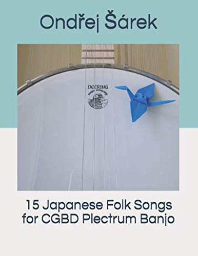 15 Japanese Folk Songs for CGBD Plectrum Banjo