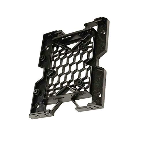 Guangcailun 5,25 Unidad óptica Posición a 3,5 Pulgadas 2,5 Pulgadas SSD Adaptador de Soporte de Muelle de Disco Duro sostenedor de la PC Enclosure