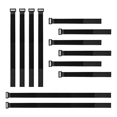 HANETE12PC 를 재사용할 수 있는 고정 케이블 스트랩 12-18-24 걸이와 반복 케이블 타이 랩 확 케이블 끈을 묶어