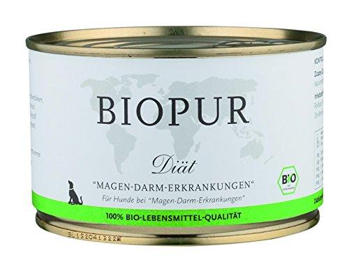 BIOPUR Bio Diätfutter Magen- und Darmerkrankungen 400g, 6er Pack (6 x 400 g)