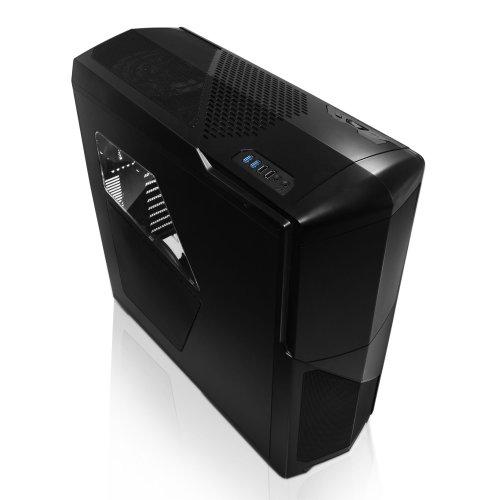 NZXT Phantom 630 Ultra Tower PC-Gehäuse (XL-ATX, 4x 5,25 externe, 8x 3,5/2,5 interne, 2x USB 3.0) mattschwarz