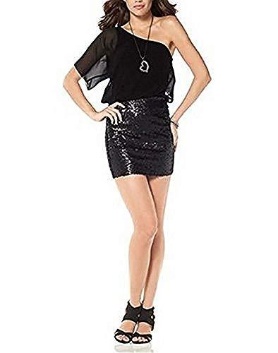 Laura Scott Kleid Cocktailkleid Schwarz Gr. 46