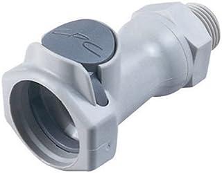 Eaton Hansen 3L26 Steel Ring Lock Quick Connect Pneumatic Fitting 1//2-14 NPTF Female 1//2 Port Size 3//8 Body Plug