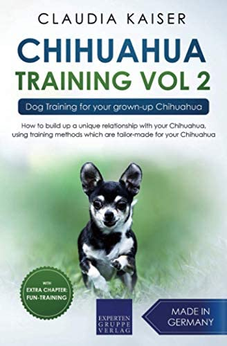 Chihuahua Training Vol 2 Dog Training for your grown up Chihuahua product image