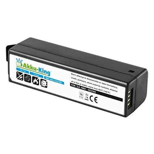 Akku-King Akku kompatibel mit DJI HB01, HB01-522365 - Li-Polymer 980mAh - für Osmo Handheld 4K Camera, Zenmuse X3, X5, X5R
