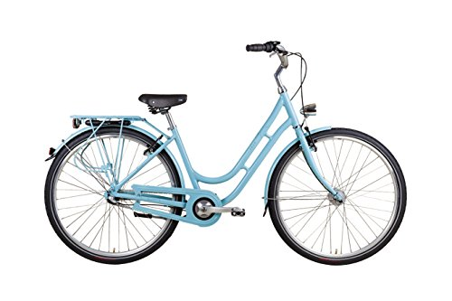 "28\"" Zoll Alu VAUN Damen Fahrrad City Bike Shimano Nexus Nabendynamo Rh 45 blau"
