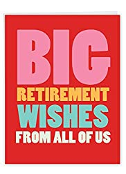 Big retirement wishes gift card