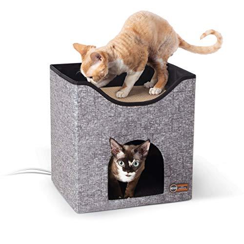 Rascador Para Gato Gris marca K&H PET PRODUCTS
