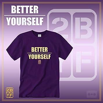 2BYF Purple T Gold Logo