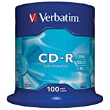Verbatim - 100 x CD-R - 700 Mo (80 Min) 52x - Spindle