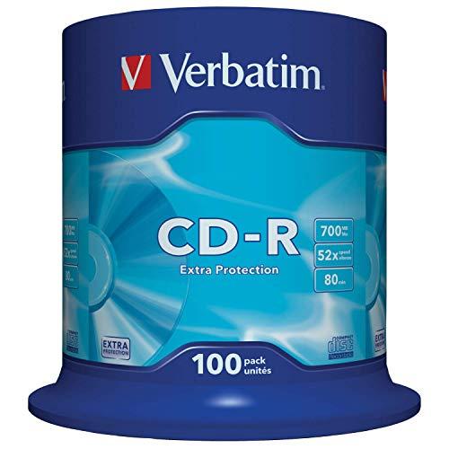 Verbatim Verbatim 43411 CD-R Extra Protection Bild