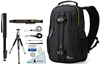 Lowepro Slingshot Edge 150 AW Photo / Tablet Camera Sling Backpack + Accessory Bundle For Canon, Nikon, Sony, Olympus, Pentax Digital SLR Cameras