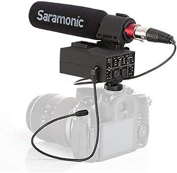 Saramonic MixMic Shotgun Microphone with Integrated 2-Ch. Audio Adapter