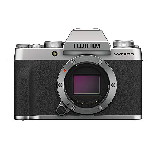Fujifilm X-T200 - Kit cámara con objetivo intercambiable XC15-45/3.5-5.6 PZ, color plata