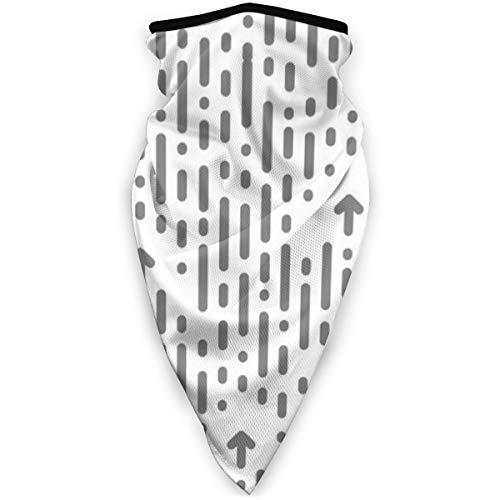 IMERIOi Magic Scarf Seamless Chaotic Pattern Vertikale Streifen und DotsMagic Scarf Winterhalsschal Schals UV-Masken für Männer und Frauen
