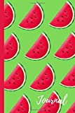 Watermelon Journal: Gift for Women Men Adults Students Teens | Lined Notebook/Journal/Diary