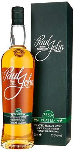 Paul John PEATED SELECT CASK Indian Single Malt Whisky (1 x 0.7 l)