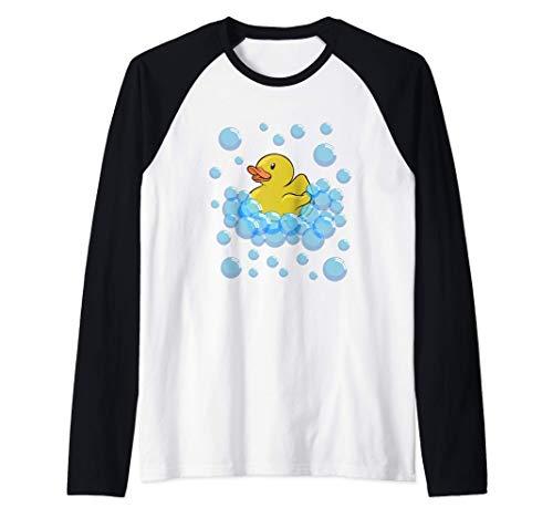 Disfraz De Pato De Goma Pato De Goma - Camiseta Infantil Camiseta Manga Raglan