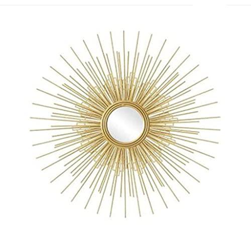 Peakfeng Gafas de Sol Colgantes de Pared Creativa Tridimensional, Espejo de Hierro metálico, salón Comedor Dormitorio sofá Fondo de Pared decoración de Pared (Size : 80cm/31.5in)