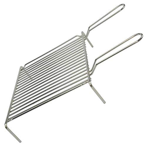 Filtex Grille Grille Lourd Acier chromé 2 poignées cm.35 x 40