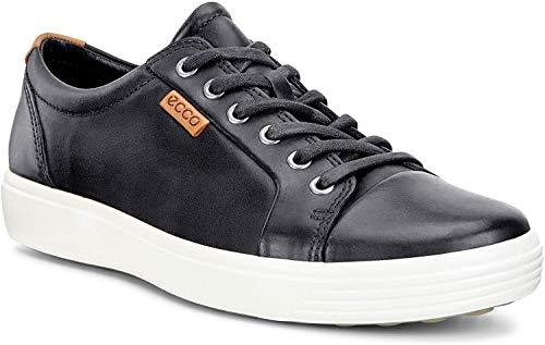 Ecco Ecco Herren SOFT7M Sneakers, Schwarz (1001BLACK), 46 EU