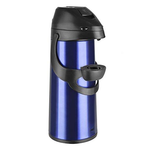 Emsa Pronto - Thermos a pompa, Colore Blu, Taglia 1.9 l