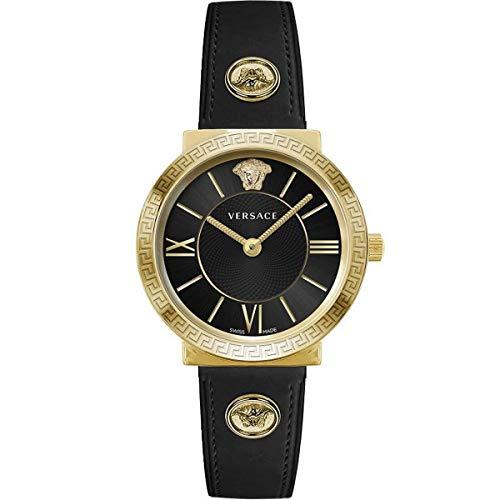 Versace Damen Armbanduhr Glam.Lady 36 D/BLK S/BLK IP2N V291 VEVE003 19