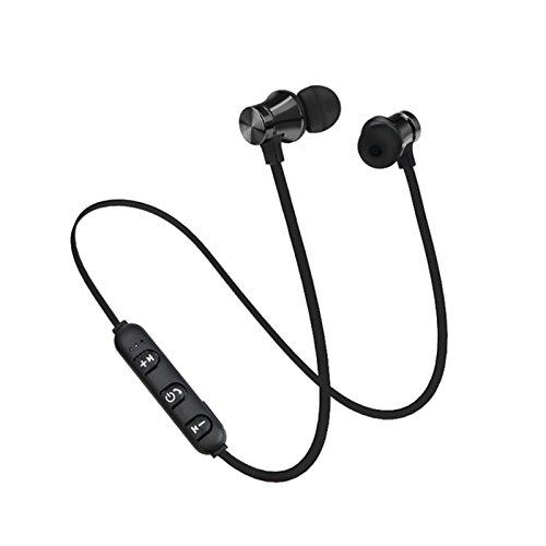 For S8 Wireless Magnetic Bluetooth Earphone Wireless Sports Headphones Stereo Bass Music Earpieces with Mic Headset