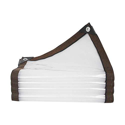 WZNING Tarpaulin Impermeable a Prueba de Agua, Resistente al desgarro a Prueba de Agua, Viento y Arena para el Patio balcón Que Cubre la Pieza de plástico, 21 tamaños Durable y Protector