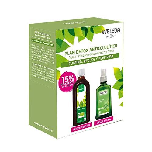 Plan detox weleda (zumo de abedul + aceite de abedul)