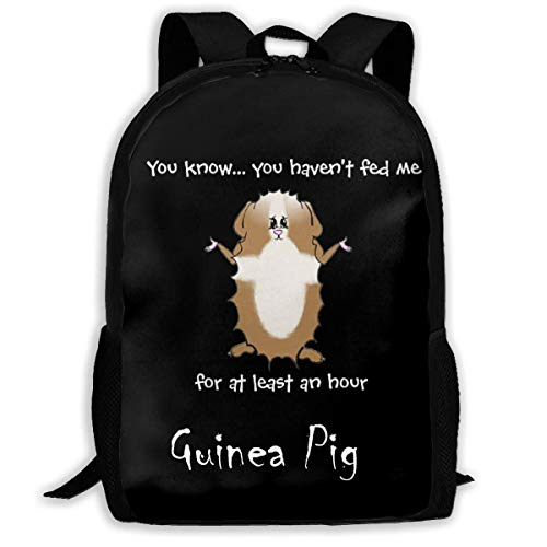 Shichangwei Fashion Kids Feed Guinea Pig Backpack for School Girls Boys Daypacks Backpack Zipper