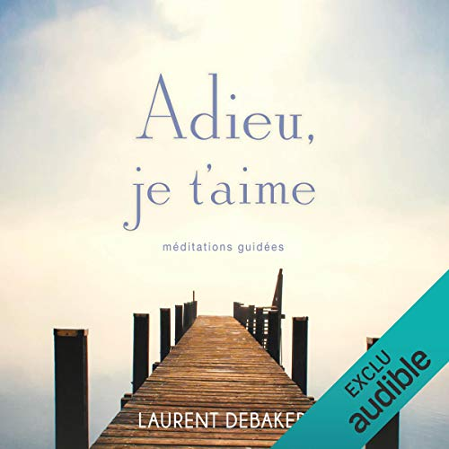 Adieu, je t'aime  audiobook cover art