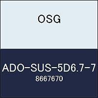 OSG 超硬ドリル ADO-SUS-5D6.7-7 商品番号 8667670