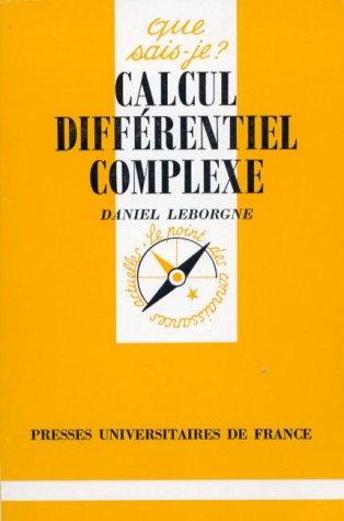 Calcul différentiel complexe