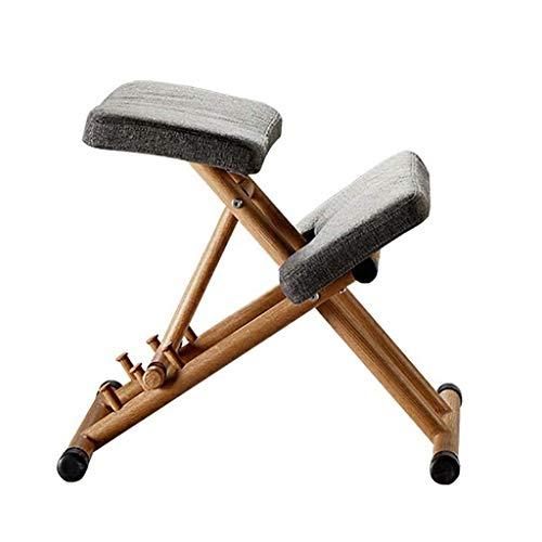BH Silla ergonómica de Rodillas para Mejorar la Postura, 3 Alturas Ajustables, Taburete de Rodillas para la Oficina y el hogar