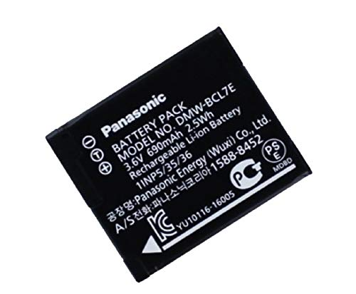 Panasonic Original Akku für Panasonic LUMIX DMC-SZ8, Camcorder/Digitalkamera Li-Ion Batterie