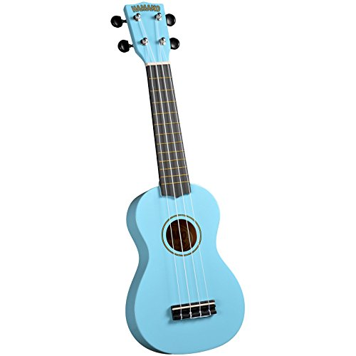 Hamano U-30LB Colorful Soprano Ukulele - Light Blue