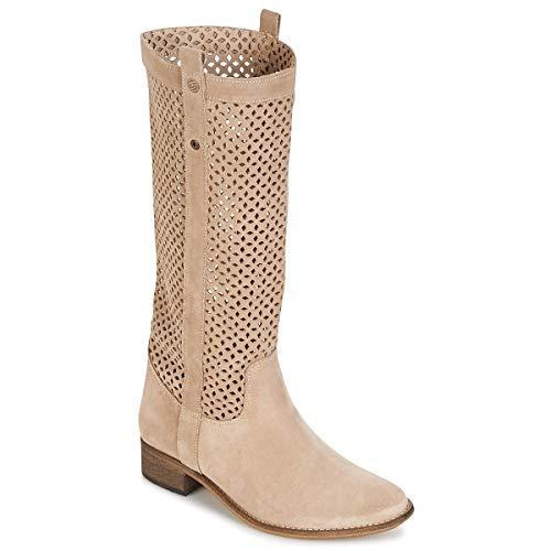 betty london DIVOUI Stiefel Damen Beige - 37 - Klassische Stiefel