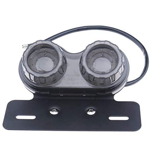 1x 40 LED 12 V Motorrad Twin Doppel Hinten Blinker Rücklicht Bremse Bremslicht E11