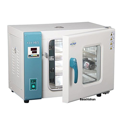 BAOSHISHAN 101-0BS Horno de secado digital de aire forzado convección gabinete de secado laboratorio horizontal temperatura constante