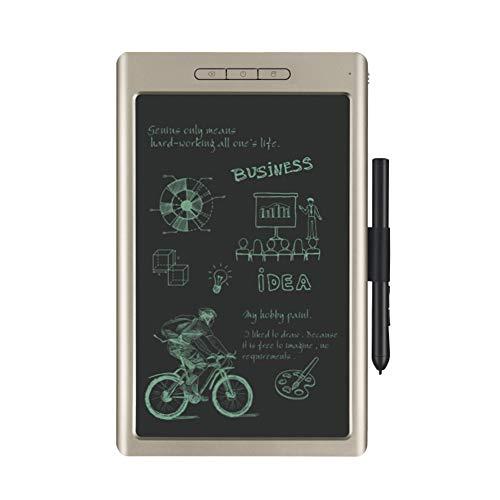 Zeichentablett, 10-Zoll-High-Tech-Grafiktablett mit digitaler Grafik, akkufreier Stift, Neigefunktion, Unterstützung für Android Win und Mac,Grau