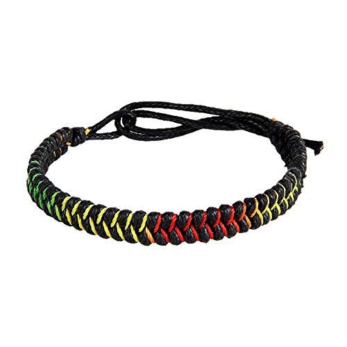 Pinzhi Noir La Corde Chanceuse De Corde De Bracelet De Corde De Corde De Bouddhiste Tibétain Fait Sur Commande La Taille