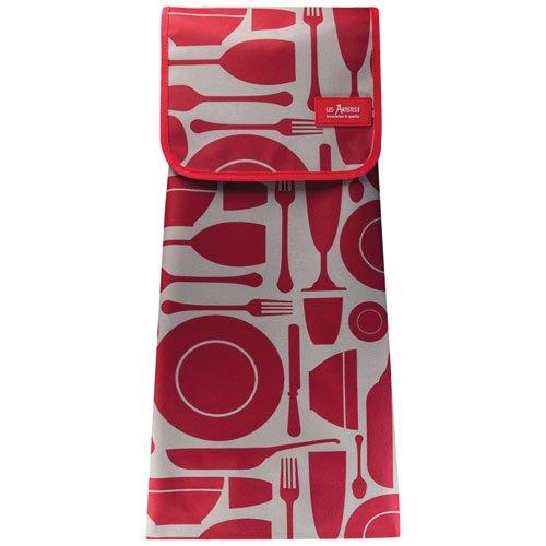 Les Artiste Paris A-1612 tas, textiel, kinderwagen, grijs/rood