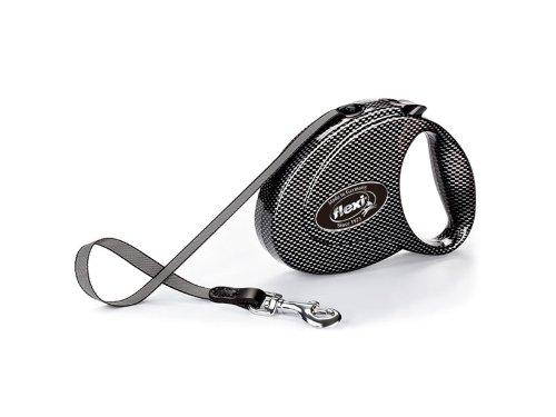 Flexi Fashion Tape - Hondenriem - Grijs - S - 3 m (<15 kg)
