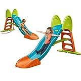 FEBER 800009594 Famosa Super Mega Slide- Tobogán con Agua, Para Niños y Niñas a Partir de 3 Años
