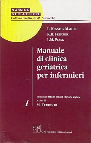 Manuale di clinica geriatrica per infermieri