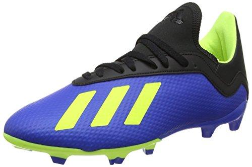 Adidas Unisex-Kinder X 18.3 FG Fußballschuhe, Blau (Fooblu/Amasol/Negbás 000), 37 1/3 EU